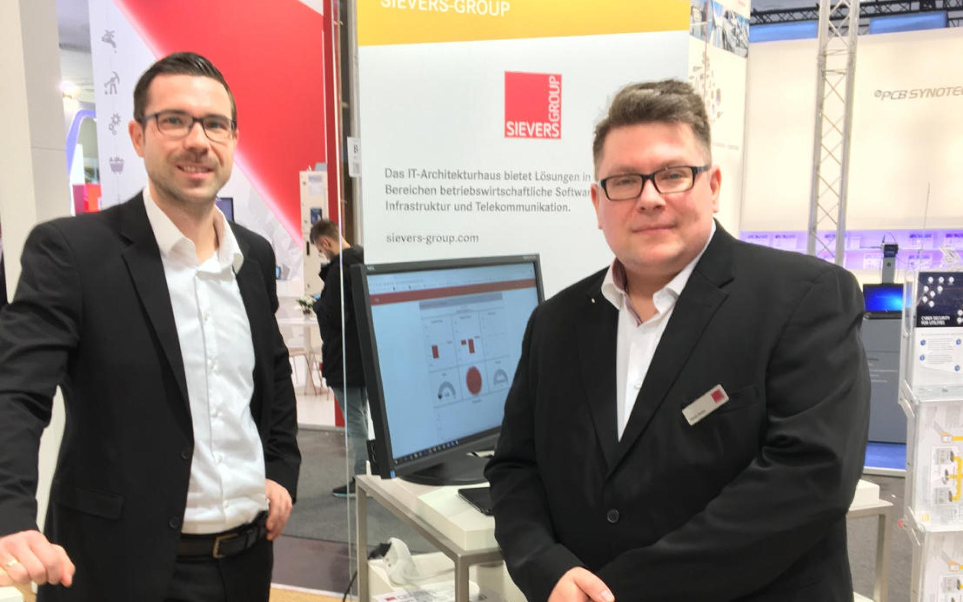[Blog] Use Case der SIEVERS-GROUP auf der #HM19